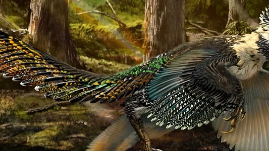 This New Raptor Species Confirms that Scaly Naked Movie Raptors Are Dumb