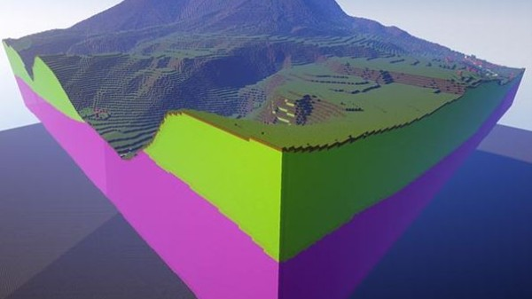 Now You Can Explore Parts of Britain's Geology in 'Minecraft'