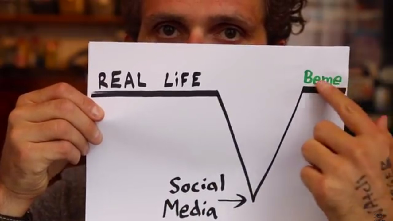 Why Beme, a Social Network for Authenticity, Exists