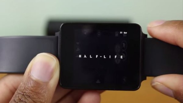 Watch Some Guy Play 'Half-Life' on a Smartwatch