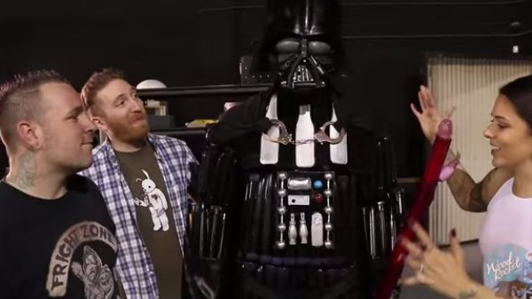 Here's a Pretty Convincing Darth Vader Made Out of Sex Toys