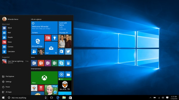 Windows 10 Gets a High-Profile Midnight Release
