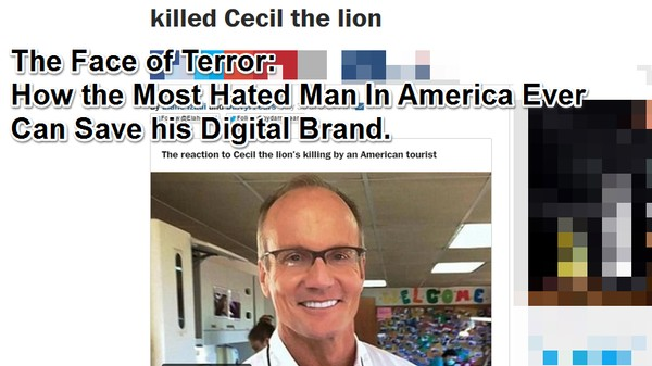 How to Rebuild Your Internet Brand After Killing a Beloved Lion
