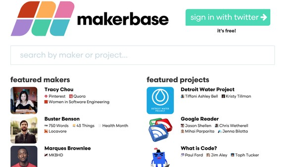 Makerbase Is an IMDb for Developers