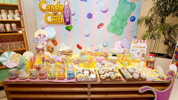 'Candy Crush'-Themed Cafe Opens in Tokyo