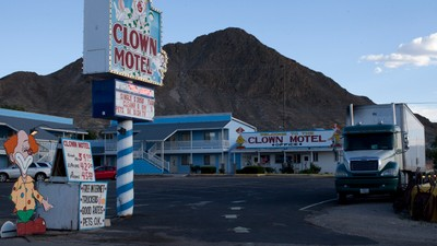 What It's Like Inside Nevada's Clown Motel