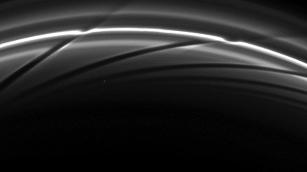 A Collision Between Mini-Moons May Have Formed One of Saturn's Outer Rings