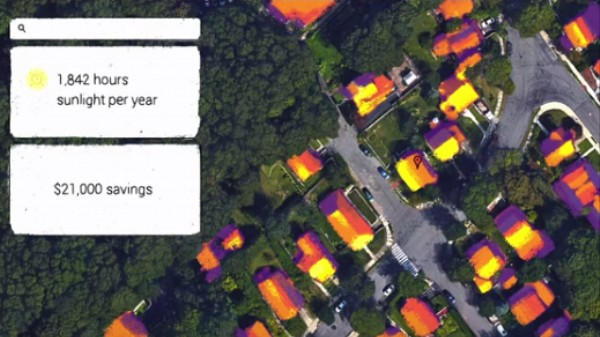 Google Announces 'Project Sunroof' to Encourage People to Install Solar Panels
