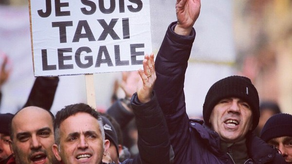 Uber Is Basically Hiding from Protesters in Brussels Now