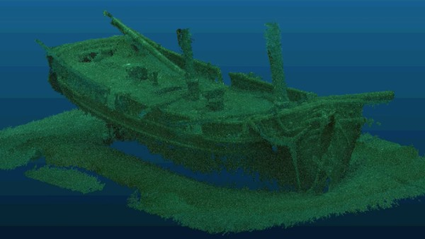 This Is the Best 3D Model of a Shipwreck We Have to Date