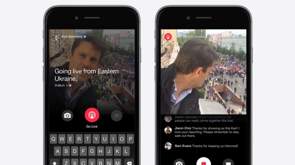 Facebook Is Letting Some People Livestream the News, But Probably Not You