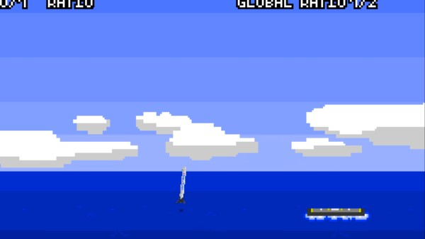 Just Try to Land a SpaceX Rocket on a Drone Boat In This Infuriating Game