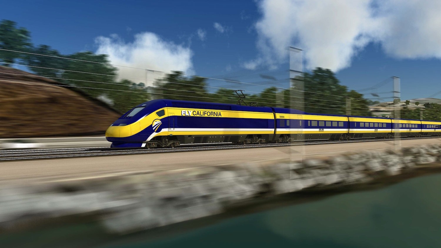 China Wants in on High-Speed Rails in the US, Starting with Los Angeles