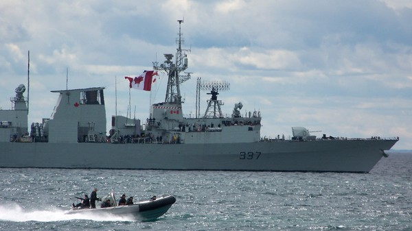 Canada's Plan to Replace Its Ancient Warships Isn't Going Well