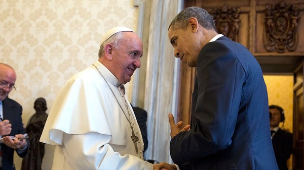 Pope Brings Call for Action on Climate, Critique of Capitalism to White House