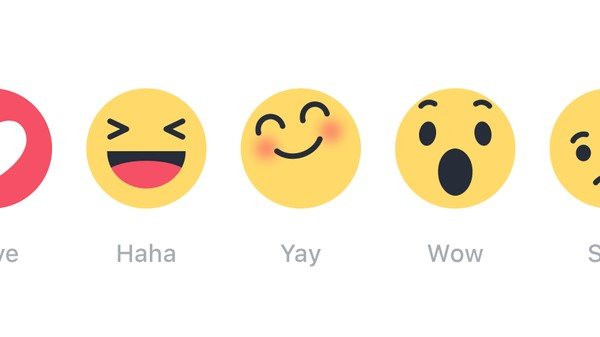Facebook Finally Lets Users Have Feelings Other Than Happiness with 'Reactions'