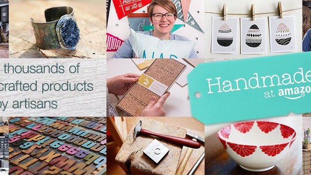 Amazon's Version of Etsy is Called Handmade at Amazon
