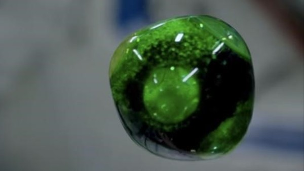 Watch This Mesmerizing Liquid Orb Float Around in Space