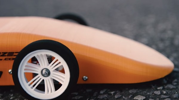This 3D-Printed RC Car Can Go 100 Miles Per Hour