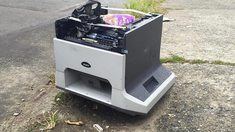 An Interview With the Woman Who Takes Photos of Abandoned Printers