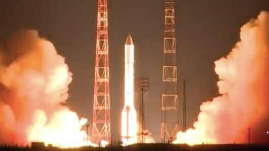Why Is a Russian Military Satellite Creeping on Foreign Comm Satellites?