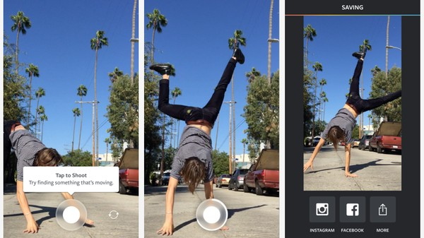 'Boomerang,' a New Instagram App, Stitches Photos into One-Second Videos