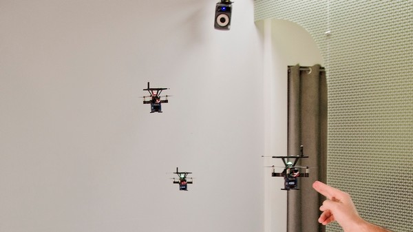 'BitDrones' Offer 3D Computer Displays Based on Programmable Matter