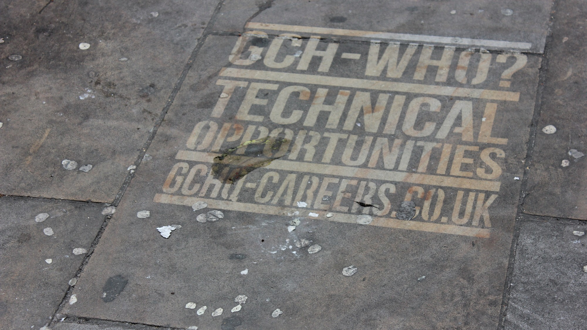 GCHQ Is Targeting London's Tech Hipsters With Graffiti Recruitment Ads