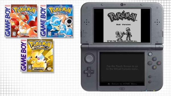 Ready to Feel Old? Play 'Pokemon Red' on Your Nintendo 3DS