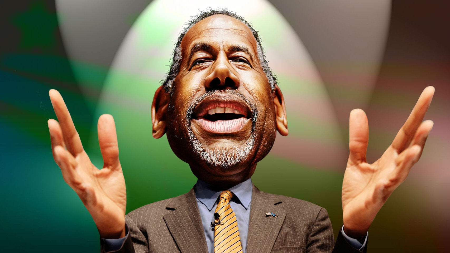 Ben Carson's Plan to Defeat ISIS Is to Follow Anonymous Into Battle