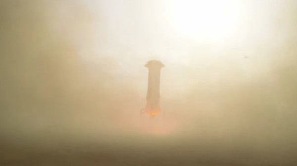 Blue Origin Just Secretly Landed a Reusable Rocket