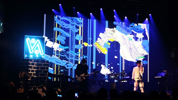 How Neon Indian Uses a Kinect to Sync Their Live Show Visuals with the Band