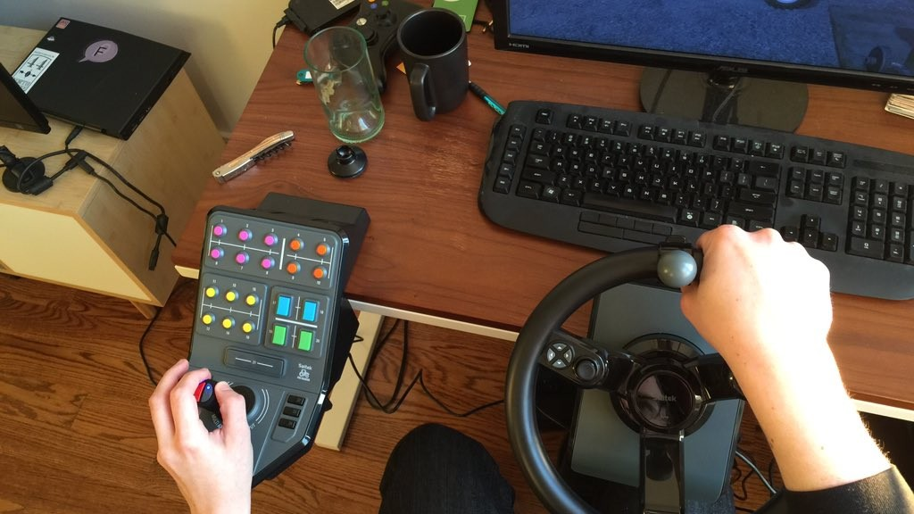 Farming Simulator's $300 Controller Is About as Hardcore as Gaming Gets