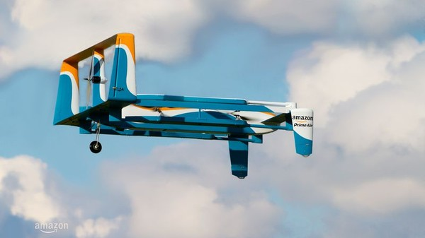Amazon Reveals Its New Delivery Drone