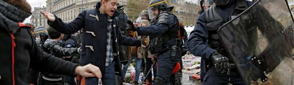 Paris Is a Snapshot of Our Hot, Violent, Militarized Future