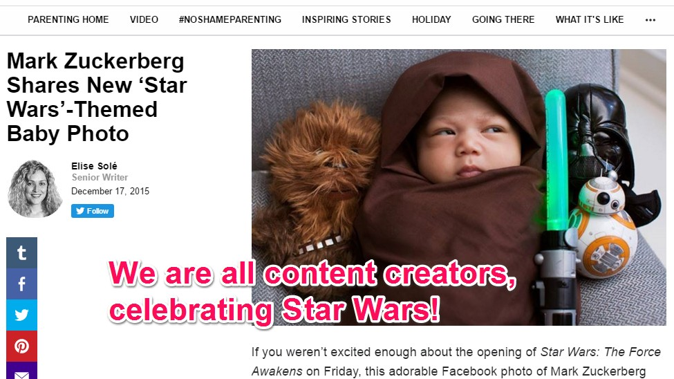 Star Wars Is God's Gift to Content Farms