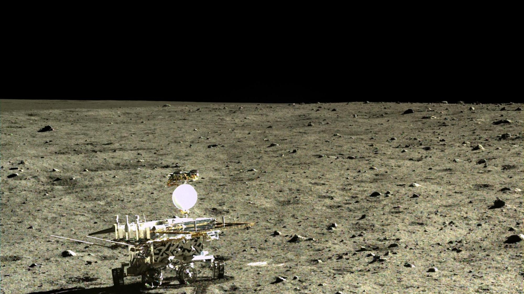 China's Lunar Rover Found a New Type of Moon Rock
