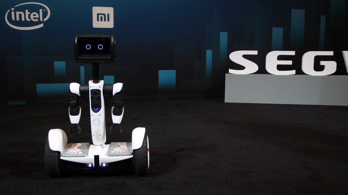 Segway and Intel Debut a Friendly Robot You Can Ride