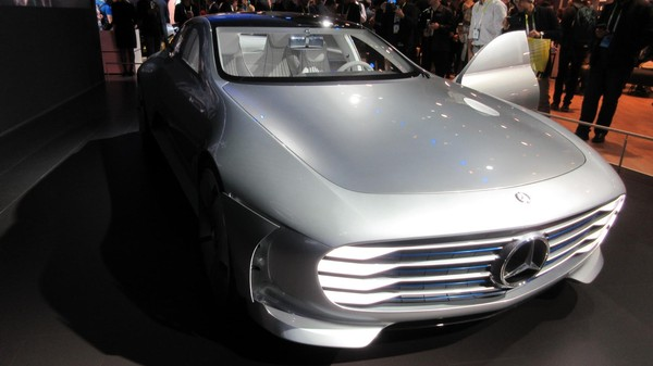 Mercedes Let Us Take a 360-Degree Photo From Inside Its New Concept Car
