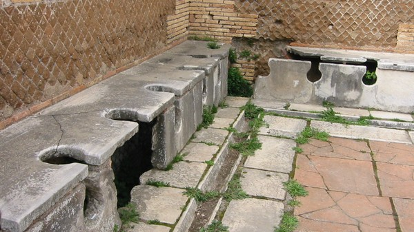 Analysis of Ancient Poop Indicates That Roman Plumbing Was Highly Overrated