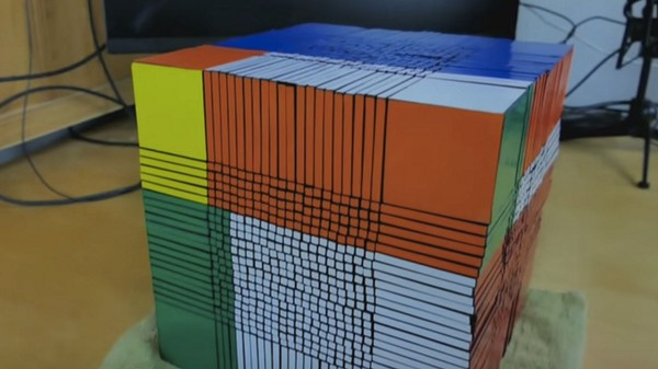 Never Defeated, Rubik's Warrior Rises Again to Build World's Largest Cube