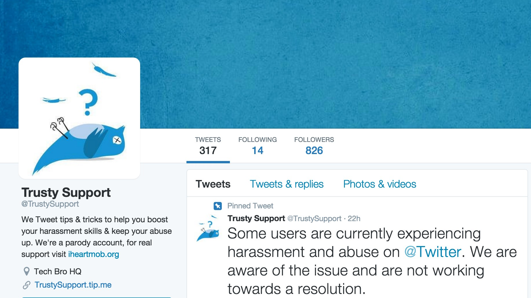 Why Twitter Suspended an Account That Makes Fun of Twitter