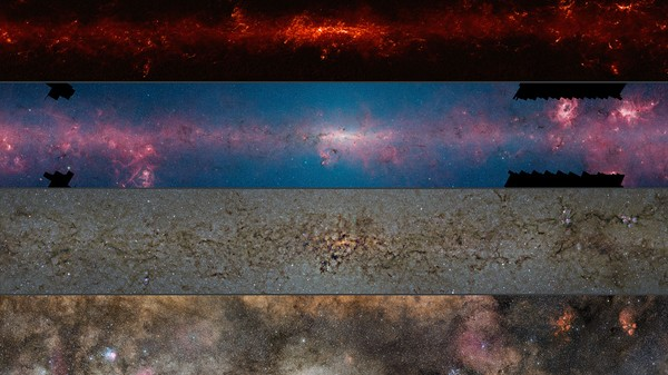Experience the Milky Way in High Resolution Over Multiple Wavelengths