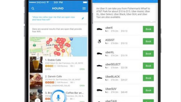 Hound Voice Search App Solves the Talk-Like-a-Robot Problem