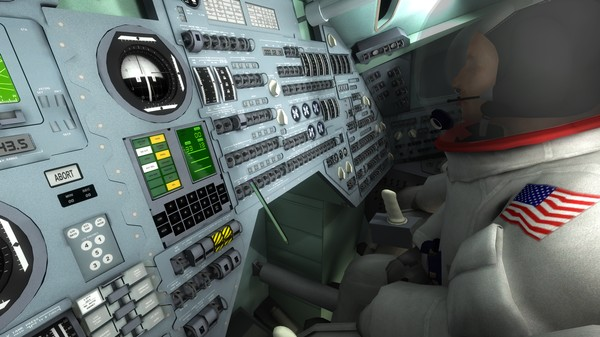 Pilot the Apollo 11 Moon Landing in This Detailed VR Recreation