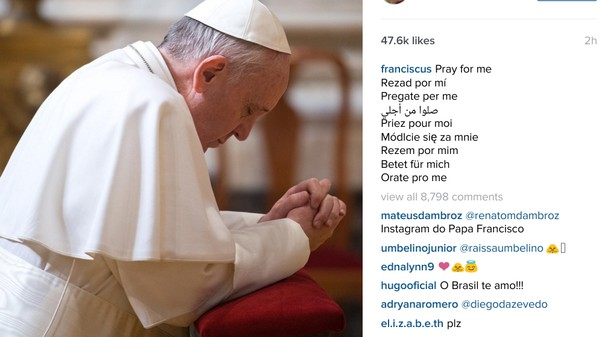 How the Pope Can Conquer Instagram