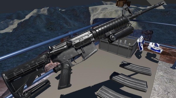 This Detailed Virtual Reality AR-15 Rifle Is a Little Creepy