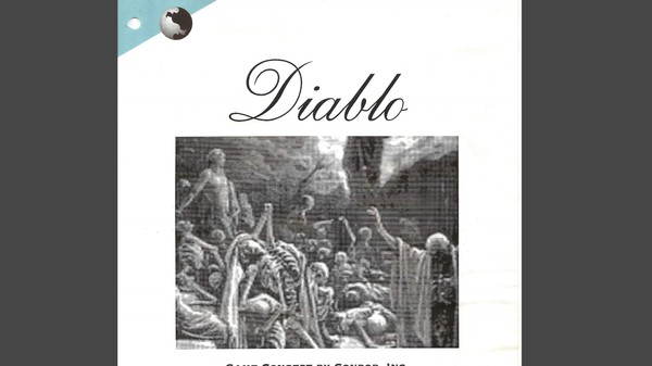 Here's the Original Pitch for 'Diablo,' Coffee Stains, Clip Art, and All