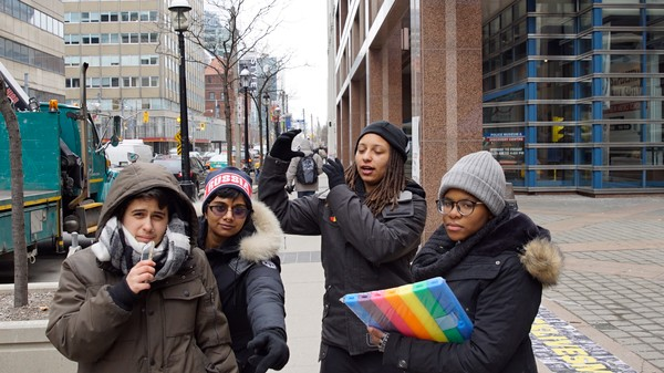 Toronto Black Lives Matter Protesters Control Info with Social Media, Encryption