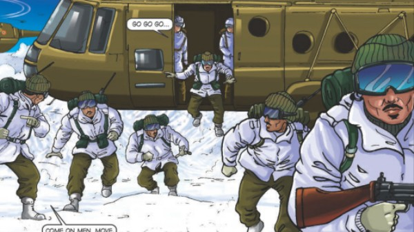 What This Obscure Comic About a War Over a Glacier Gets Wrong